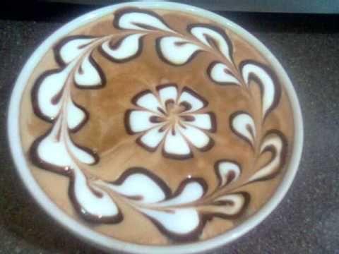 cappuccino art (atb-till i come) - YouTube