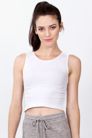 SOLID LONGER CROPPED TANK