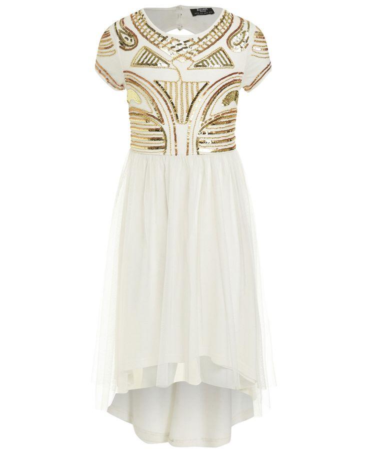 Girl's Muse Beaded Dress - PRE ORDER - Bardot Junior