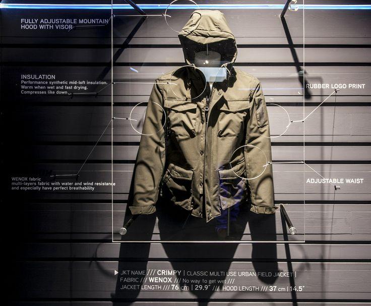 #North #Sails #Pitti #Immagine #Man #2014 #2015 #Fall #Winter #Collection #Pertex #Jacket #Crimpy #Wenox #fabric