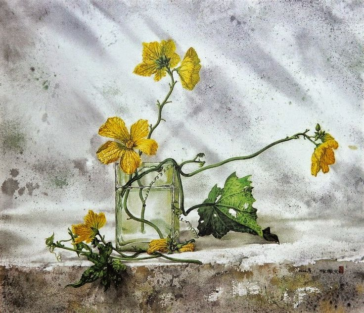 Chen-Wen Cheng, 1964 | Realistic Watercolor painter | Tutt'Art@ | Pittura…