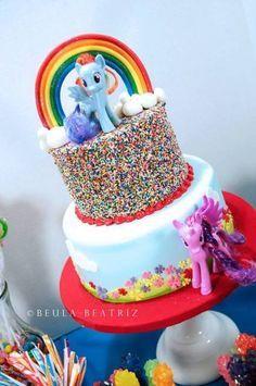 mey little pony bolos decorados   Festa MY LITTLE PONY: 50 Dicas e Fotos!