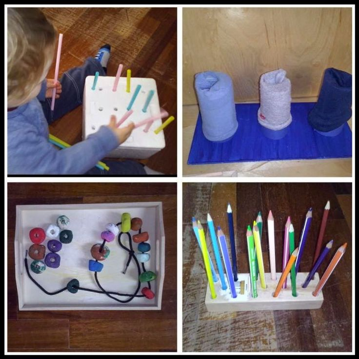 Nello sviluppo infantile Maria Montessori pone l'accento sull'uso delle mani come estensione dello sviluppo del cervello (coordinazione occh...