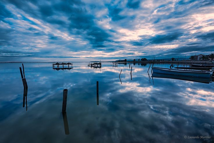 Alba Lago Lesina by Leonardo Martino on 500px