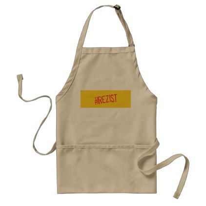 rezist romania political slogan resist protest sym adult apron - decor gifts diy home & living cyo giftidea
