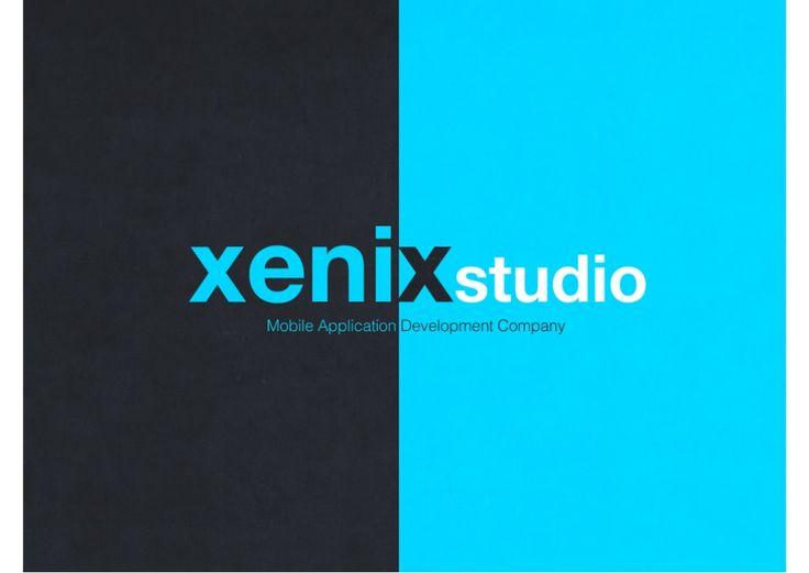 제닉스 스튜디오 회사소개서 by Xenix Lee via slideshare