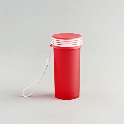 Fab Kitchen Travel Mug Red - Bold colors always make travel accessories come alive and this shaker bottle should be on top of your shopping list. Made of plastic, this comes in an attractive red color.