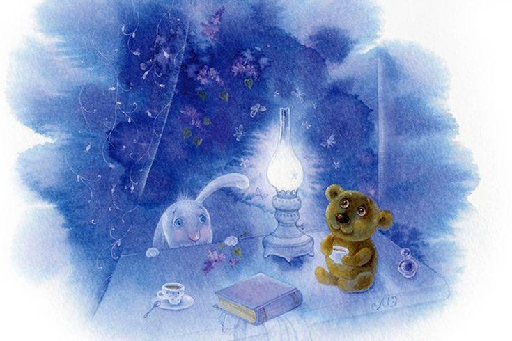 ELINA REPKINA (MOISEENKO)    Свет волшебной лампы