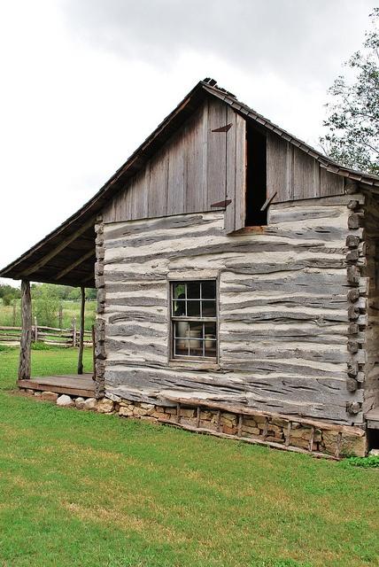 Cabin not a sauna.