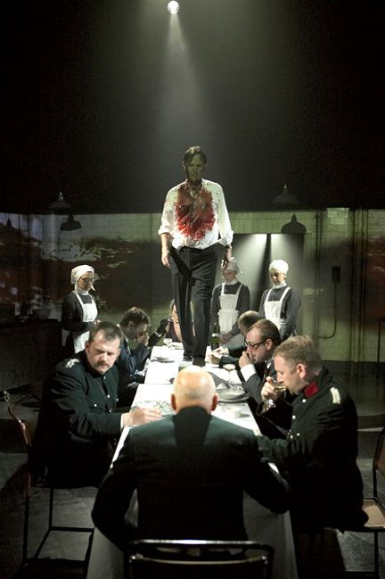 Oh, tis Banquo. Macbeth, with Patrick Stewart. I would have KILLED to see this.