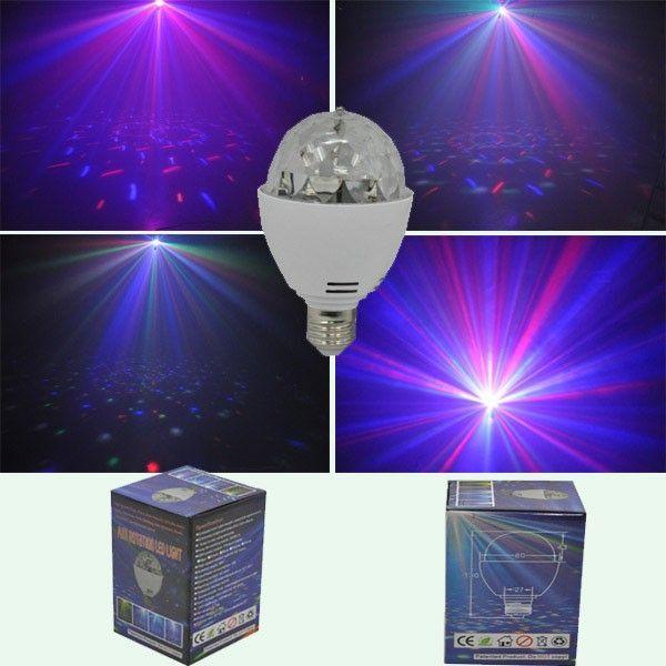 Lampe a led effet disco boule a facettes pas cher - PriceMinister