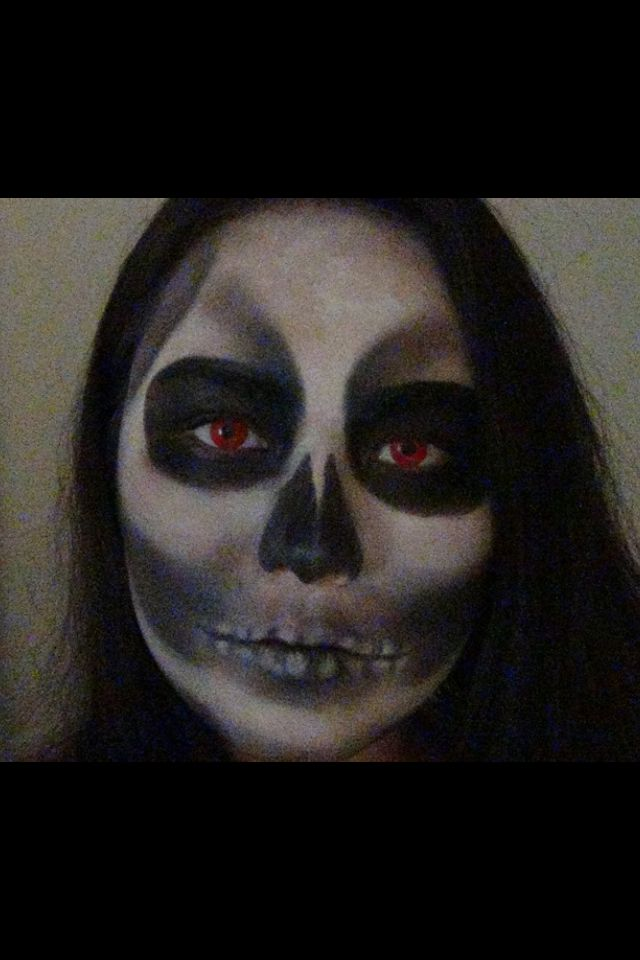 My skull look.