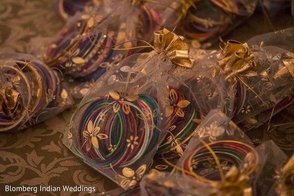 Pre-wedding celebration favors. http://www.maharaniweddings.com/gallery/photo/99799