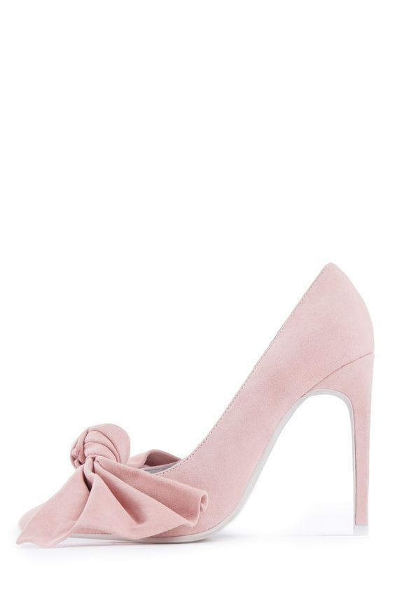 Jeffrey Campbell Shoes GRANDAME in Dusty Pink Suede