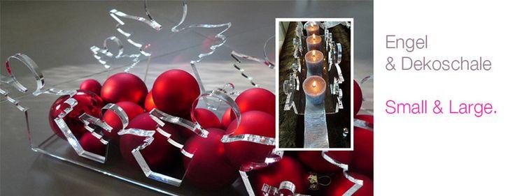 Adventskranz & Kerzenständer  ENGEL || BAUM   von PAULSBECK Buchstaben, Dekoration & Geschenke auf DaWanda.com