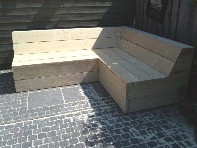 hoekbank steigerhout zonder leuningen ik maak het zelf wel.nl