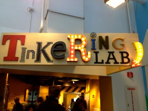 Chicago Tinkering Lab sign