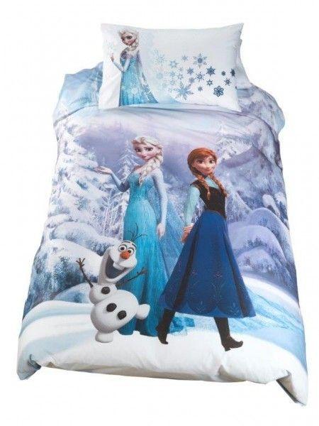 Copripiumino Disney Frozen Caleffi Letto Singolo Sacco Copripiumone, Federa, Tessile Casa, Arredo Cameretta - TocTocShop.com - Fantastico per i Bambini, Imbattibile nei Prezzi