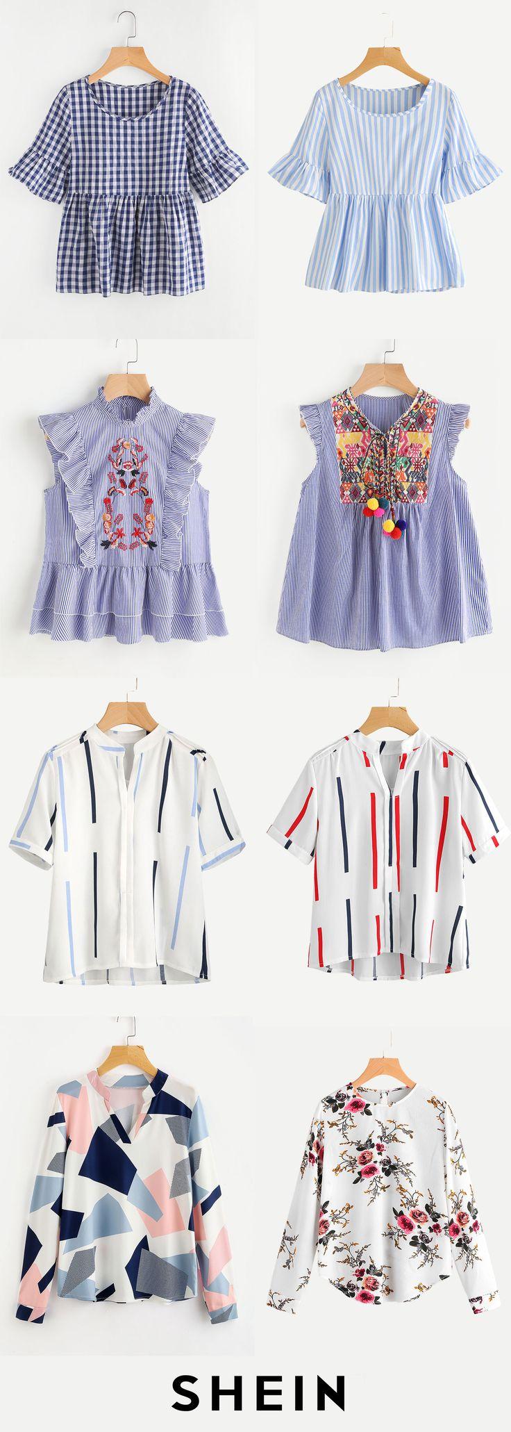 Comfy blouses