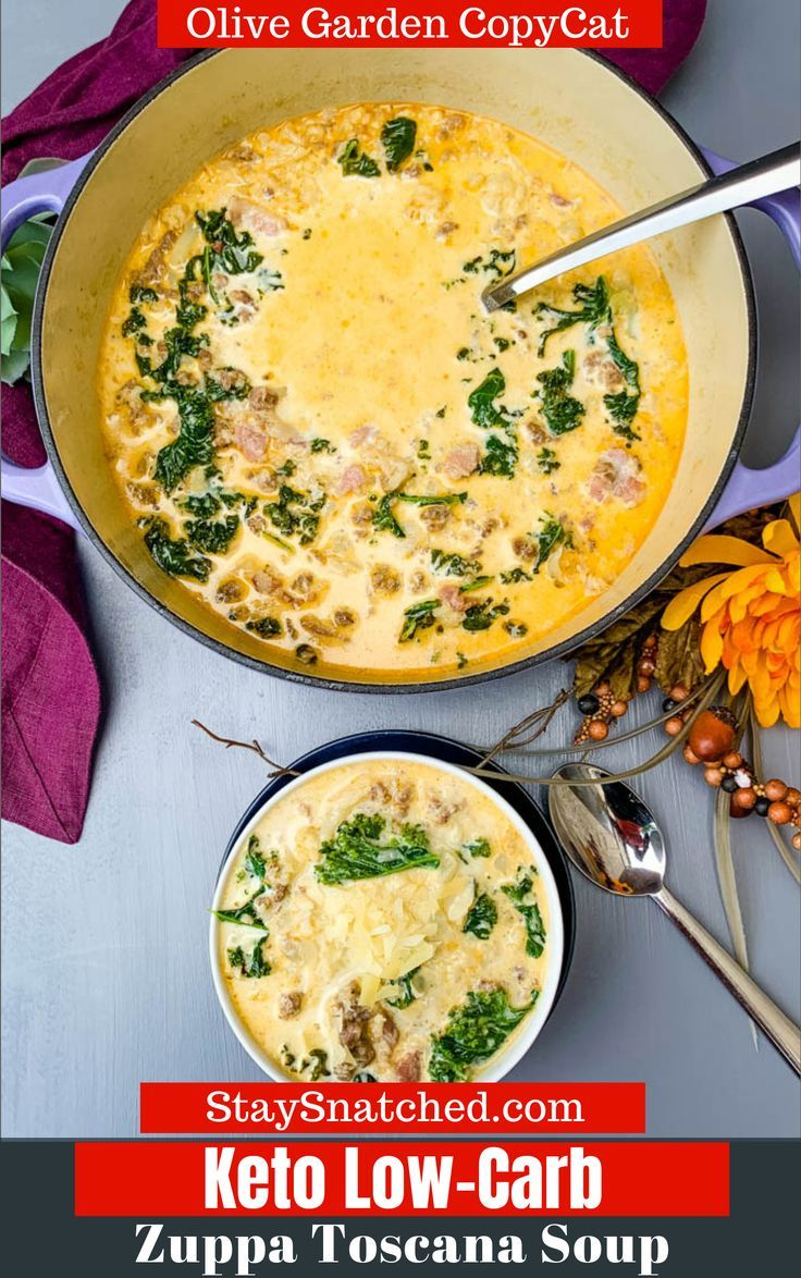 Easy Keto Low Carb Zuppa Toscana Soup Is The Best Olive Garden