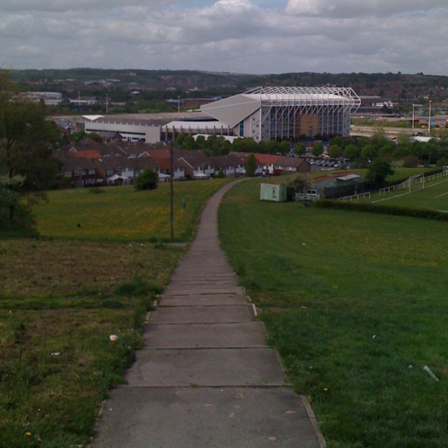 Elland Road - Leeds United - View from Beeston Hill