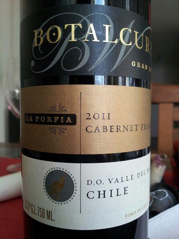 Botalcura 2011 Cabernet Franc Maule Valley Chile
