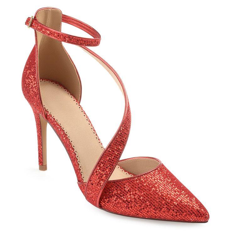 Journee Collection Zeta Womens High Heels, Size: medium (8.5), Red
