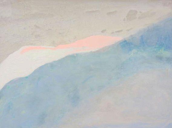 Acrylic and pigment on canvas 100 x 72 cm Paula Payne