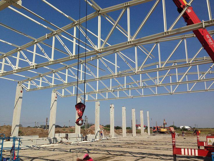 Hala Productie - Prolyte Industry | duna-steel.ro