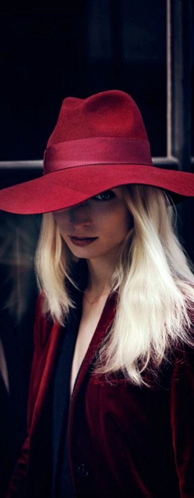 red hat style ♥✤ | Keep Smiling | BeStayBeautiful