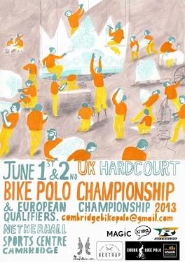 This June Cambridge is hosting the biggest UK bike polo tournament of the year which will be both the UK Championships and also act as the Euro Qualifiers.     We're super stoked to be sponsoring this awesome event as it continues to grow year upon year.    Check out the Facebook events page for more info -http://www.facebook.com/events/177859782362696/?fref=ts