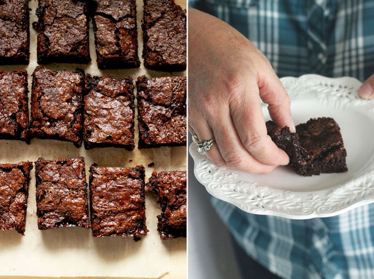Salted Coconut Caramel Fudge Brownies...fudgy and gluten free too