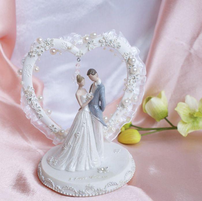 """Фигурка для свадебного торта """"Ариель"""" #торт_на_заказ_киев #ярусные #без выпечки_торт"""
