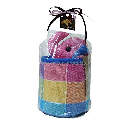 Elephant Tissue Holder Case (Pink) Handwoven Cotton Handmade From Thailand Lanna Handmade http://www.amazon.com/dp/B00O2WGO7K/ref=cm_sw_r_pi_dp_eyclub1DQZ3BG