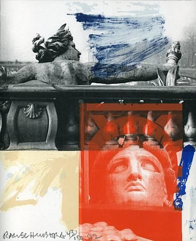 artnet Galleries: For Ferraro by Robert Rauschenberg from HEMPHILL
