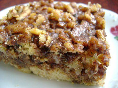 Ciasto tarte z kokosem i orzechami