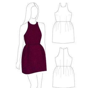Free dress pattern from salme