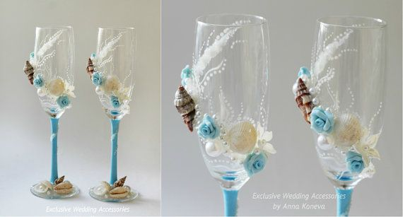 BEST SELLER Wedding glasses #Beach Wedding Champagne glasses Toasting Glasses Toasting Flutes Wine Glasses Bride And Groom Champagne Glasses     The total price for this pai... #trending #trend #weddingideas #happytime #winter #bridesmaid #beach