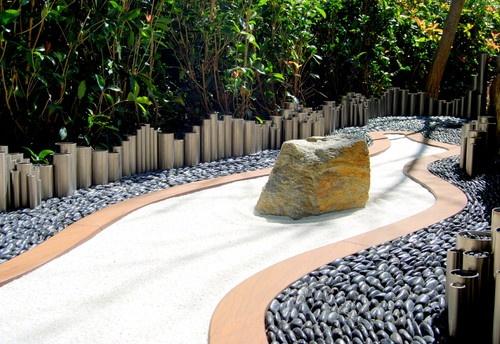 Zen Garden contemporary landscape