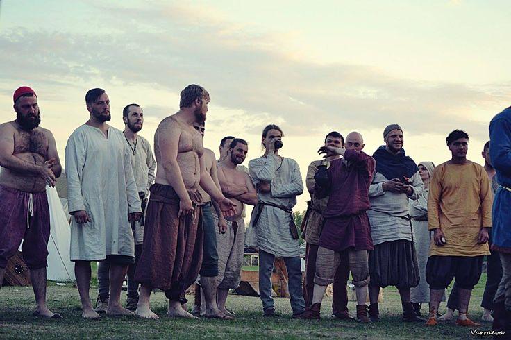 Viking-age rus viking re-enactors, Rusborg
