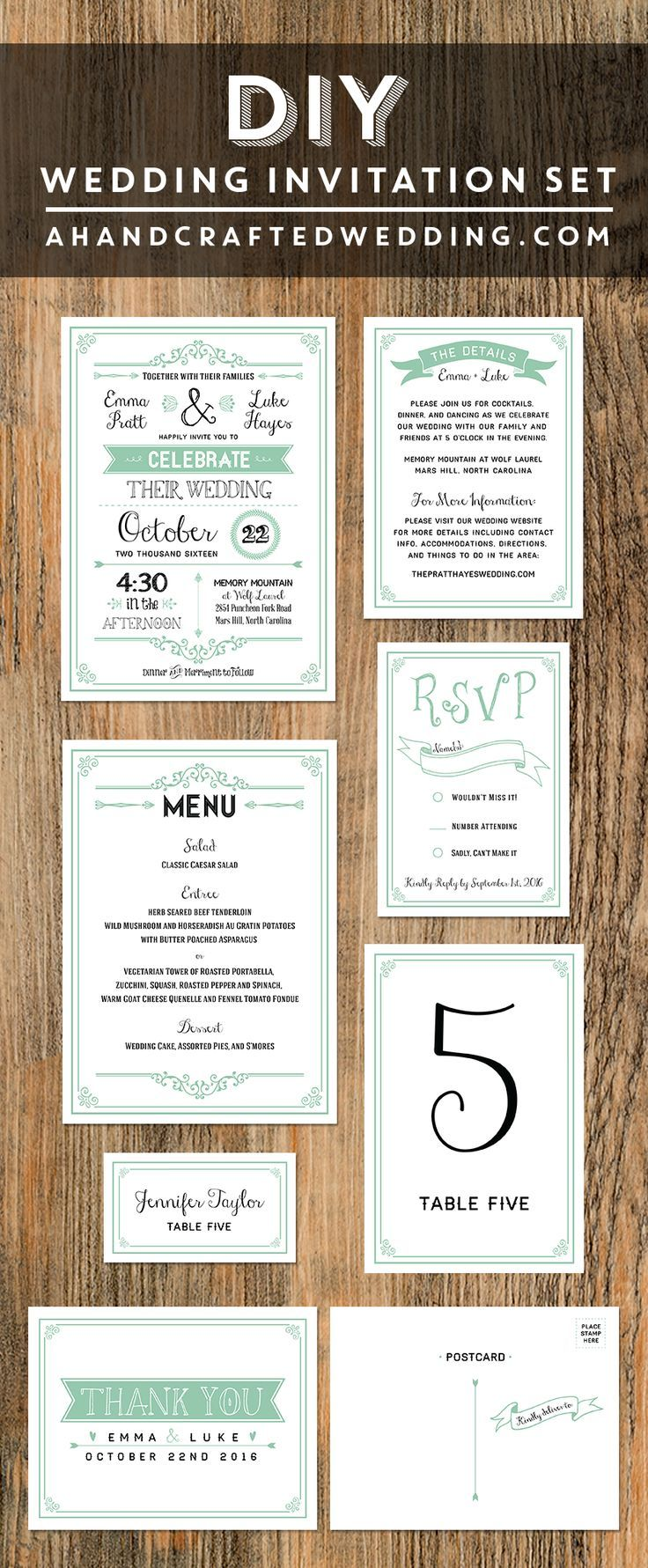 136 best diy wedding invitation ideas images on pinterest 136 best diy wedding invitation ideas images on pinterest letters desserts and floral designs stopboris Gallery