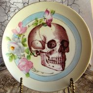 Day of the Dead altar plate offering dish All por AustinModern