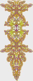 Nice Neck Embroidery Designs - Embdesigntube