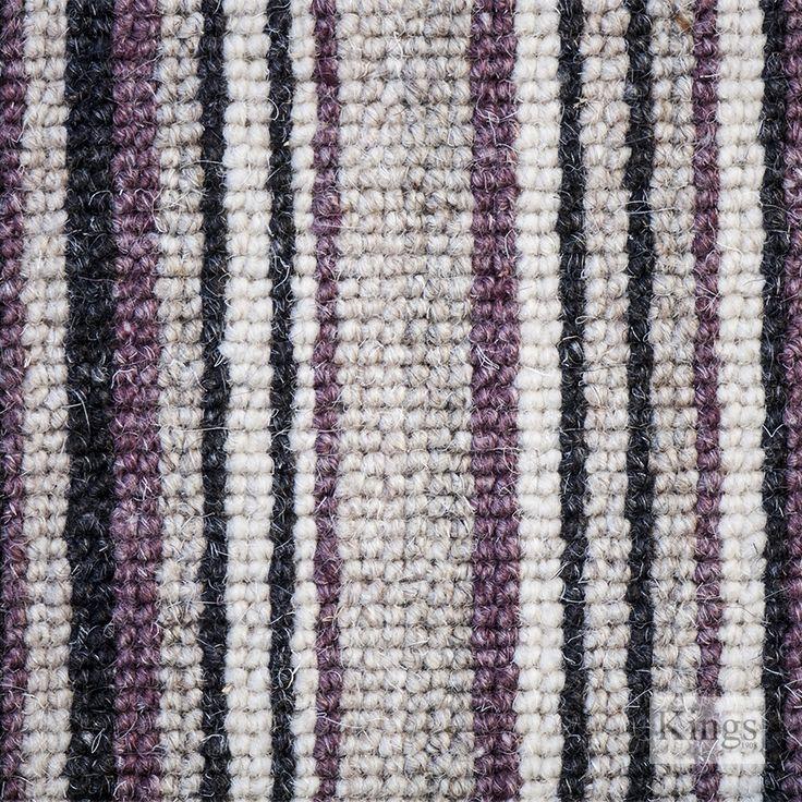 #Telenzo #Carpets Stripe #Bakerloo #Carpet  www.kingsinteriors.co.uk/flooring/striped-carpet