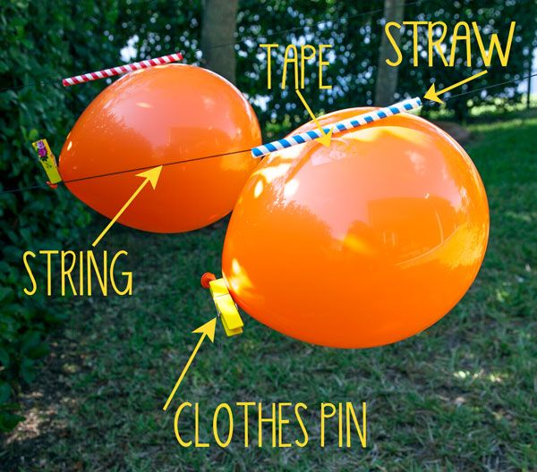 Balloon Rocket Races