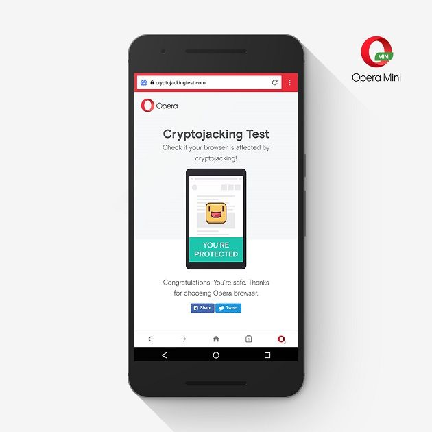 Opera Mobile et Mini : les scripts malveillants de minage de cryptomonnaie désormais bloqués - http://www.frandroid.com/android/applications/484247_opera-mobile-et-mini-les-scripts-malveillants-de-minage-de-cryptomonnaie-desormais-bloques  #Android, #ApplicationsAndroid