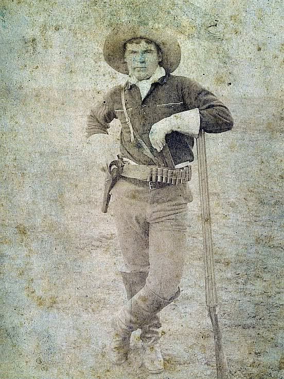 1890s Kansas Cowboy Cabinet Card Frontiersman Amp Pioneers