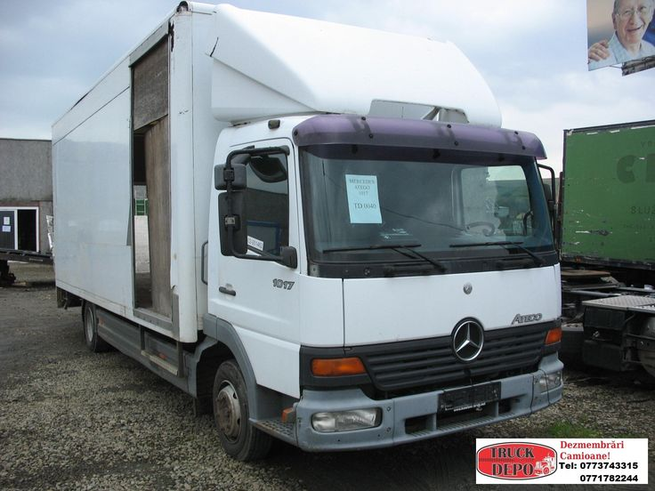 Dezmembrez Mercedes Benz Atego 1017. Pentru mai multe detalii, contactati-ne: 0773 743 315, 0771 782 244, 0365 424 682, office@truckdepo.ro .