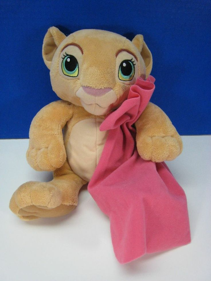 Lion King Disney Cradlin Cub Nala Girl Blanket Talking