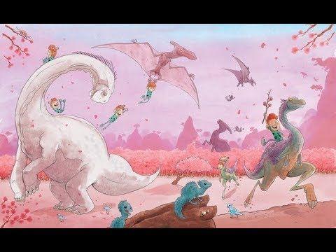 ik ben bij de dinosaurussen geweest. Een leuk voorleesfilmpje! perfect voor bij de kinderboekenweek gruwelijk eng, of bibbers. Dit is ook 1 van de boeken uit de prentenboeken top 10 van 2018 voor de nationale voorleesdagen!